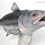 realistic Latex fish puppet