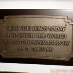 a limited edition Disneyland replica plaque makes sense as a way to start our tour