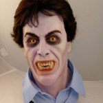 David's Nightmare... a bust by me based on An American Werewolf in London