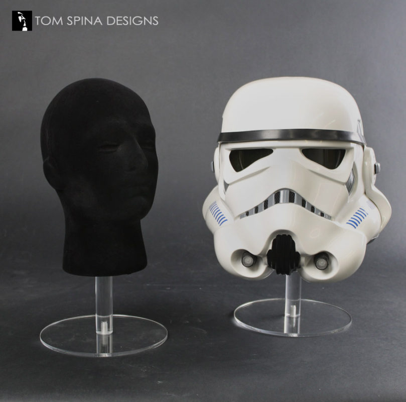 helmet stand for star wars masks