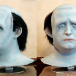 A lifecast of Peter Boyle with original appliances applied (Henry Alverez casting, my finish work)
