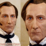 My first 'human' sculpture, Peter Cushing as Baron Frankenstein, a tribute bust.