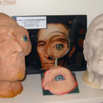 Stuart Freeborn production pieces for his work on Peter Cushing in Top Secret.