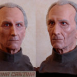 An alternate finish of my likeness of Cushing (this time as Grand Moff Tarkin from Star Wars)
