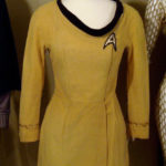 Starfleet first and second season minidress from the classic 60's series