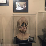 Givin alien mask - mounting and display by Tom Spina Designs