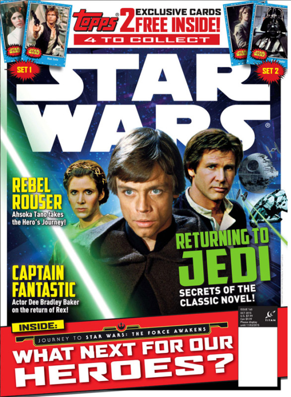 star wars insider 160 red five favorite aliens