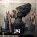Star Wars Plutonian or Nabrun Leids mask and hands, screen used in Star Wars