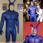 The Tick! screen used costume worn by Patrick Wharburton in the live-action TV series