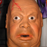 the Don Post Tor Johnson mask. (or is it George the Animal Steele?) Truly a classic mask!