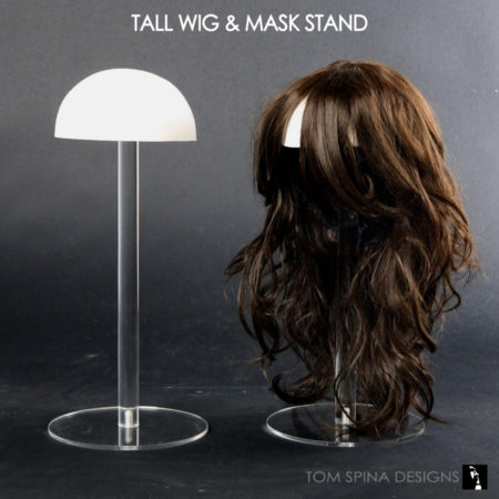 tall hat or wig foam head form