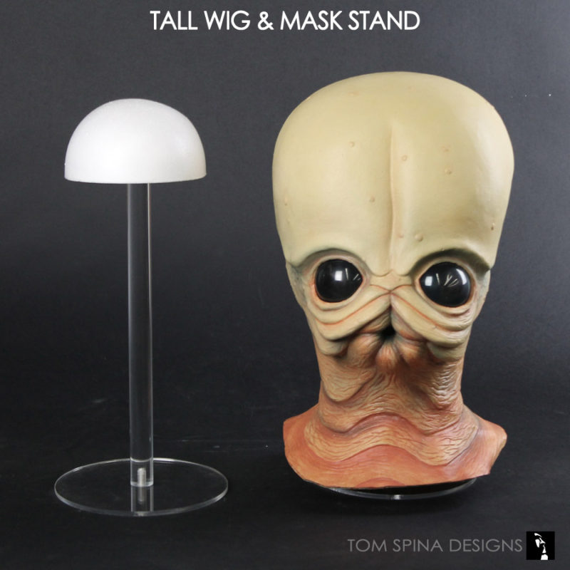 tall mask stand or wig stand