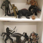 A collection of incredible X-plus vinyl figs of Ray Harryhausen's iconic characters