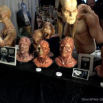 movie masks at monsterpalooza trade show