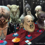 Life sized busts at Monsterpalooza Trade Show 2016