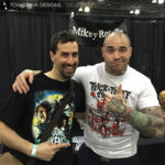 Mikey Rotella at monsterpalooza trade show