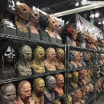 Immortal Masks at monsterpalooza trade show