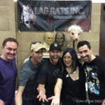 lab rats at monsterpalooza trade show