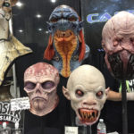 latex busts at monsterpalooza trade show