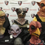 latex masks at monsterpalooza trade show