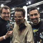 makeup artists at monsterpalooza trade show