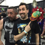 puppets at monsterpalooza trade show
