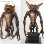 Gremlins 2 movie prop Rick baker monster maker