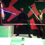 Darth Maul mannequin Star Wars Costume Exhibit