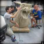 Ghostbusters Terror Dog Statue Movie Prop Restoration