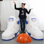 sports props giant foam basketball sneakers