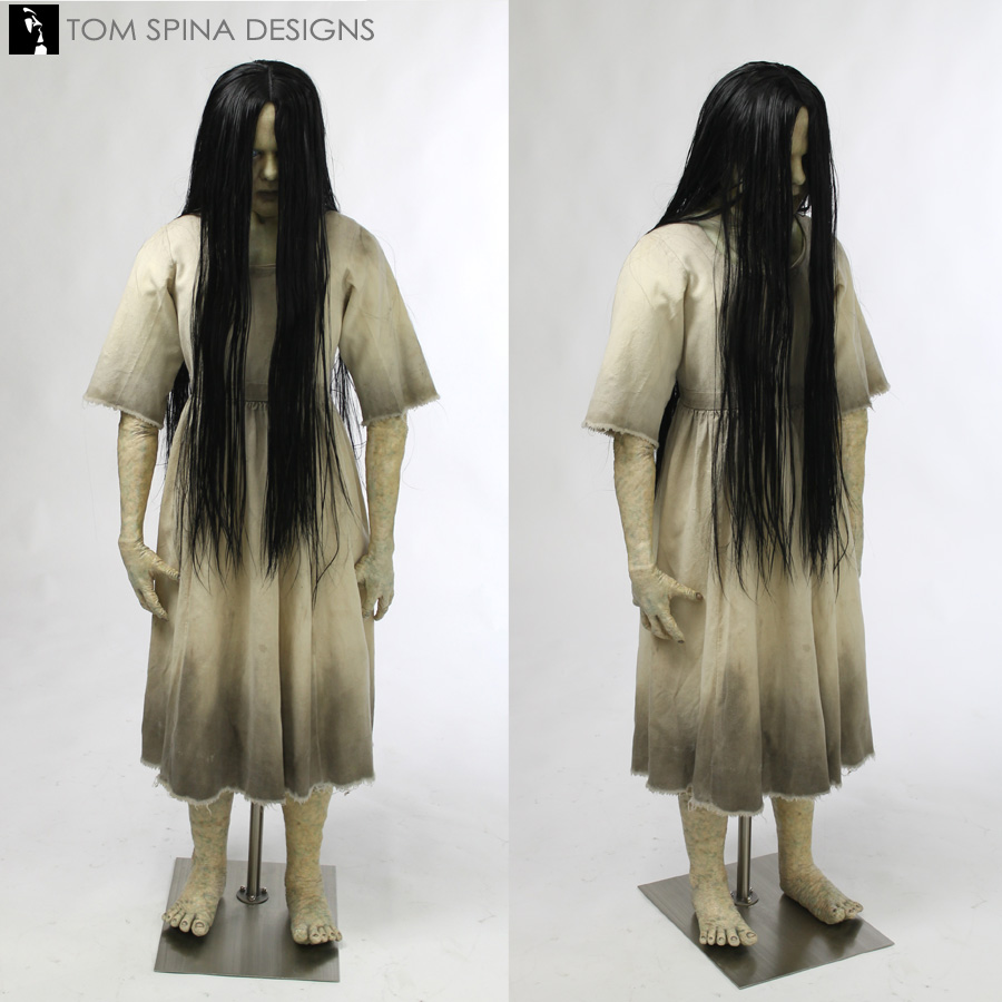 Scary Girl From The Ring Costume