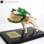 The Mask Milo the Dog Resin Maquette Restoration