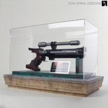 Star Wars Prop Blaster Display