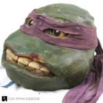 Ninja turtles Donatello costume head restoration