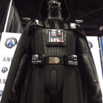 cosplay Darth Vader costume on custom mannequi