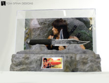 rambo knife sylvester Stallone movie prop
