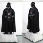 Darth Vader Costume Display Mannequin