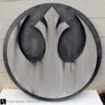Star Wars Faux Stone Wall Art