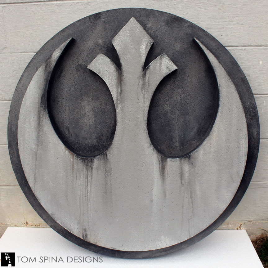 ... Star Wars Faux Stone Wall Art ...
