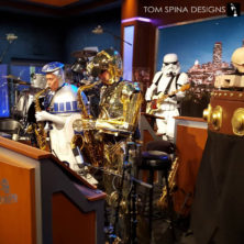 custom Replica C3PO Costume for ABC television show