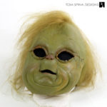 Baby Grinch Puppet head movie prop