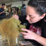 baby grinch puppet at prop store Rick baker prop auction