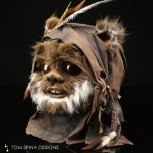 Ewok Mask star wars costume prop