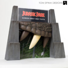 customized display Jurassic Park movie prop