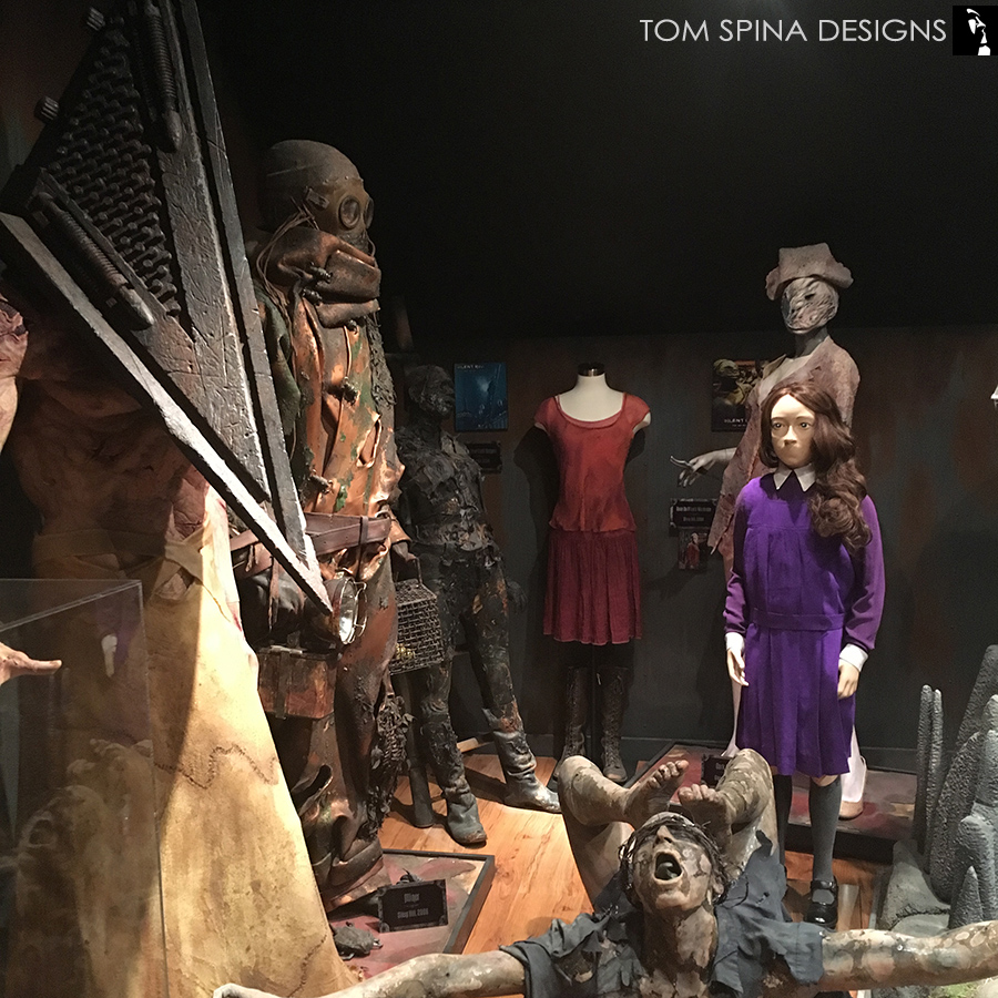 Silent Hill Girl Movie Costume Display Tom Spina Designs Tom