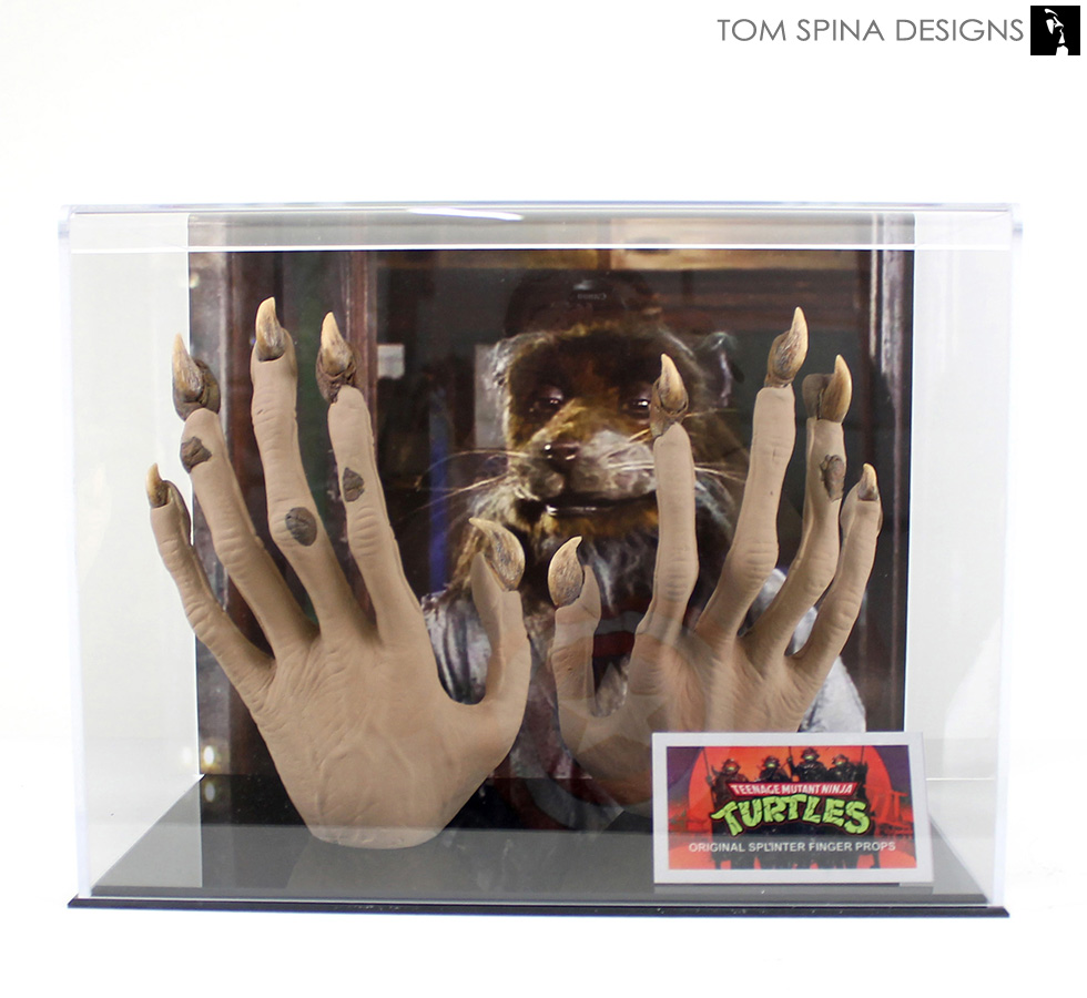 Master Splinter TMNT Prop Display - Tom Spina Designs ...