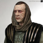 Star Trek Ru'afo Costume Display