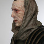 custom sculpted statue for Ru'afo from Star Trek
