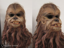 Star Wars Chewbacca / Malla mask holiday special