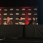 Pablo Hidalgo, Tom Spina and Amy Ratcliffe